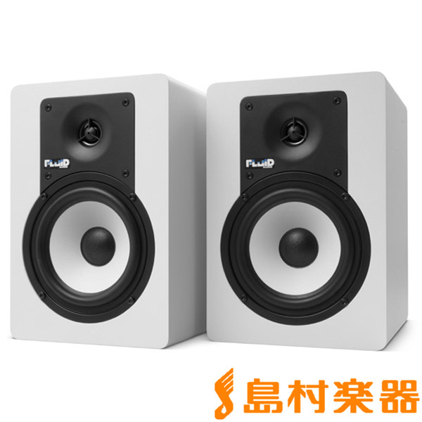 Fluid Audio C5W ホワイト モニタースピーカー 【フルイドオーディオ】