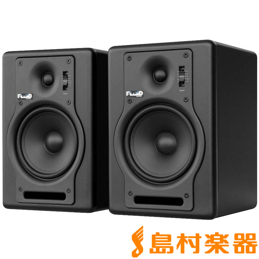 Fluid Audio F5 ブラック モニタースピーカー 【フルイドオーディオ】