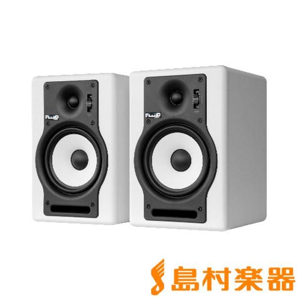 ホワイト F5W Fluid Audio 【フルイドオーディオ】 モニタースピーカー