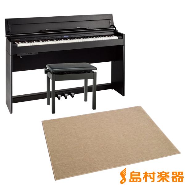 Roland DP603 CBS カーペット(大)セット 電子ピアノ 88鍵盤 【ローランド】【配送設置無料・代引き払い不可】【別売り延長保証対応プラン:D】