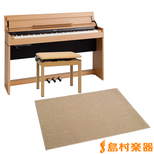 Roland DP603 NBS カーペット(大)セット 電子ピアノ 88鍵盤 【ローランド】【配送設置無料・代引き払い不可】【別売り延長保証対応プラン:D】
