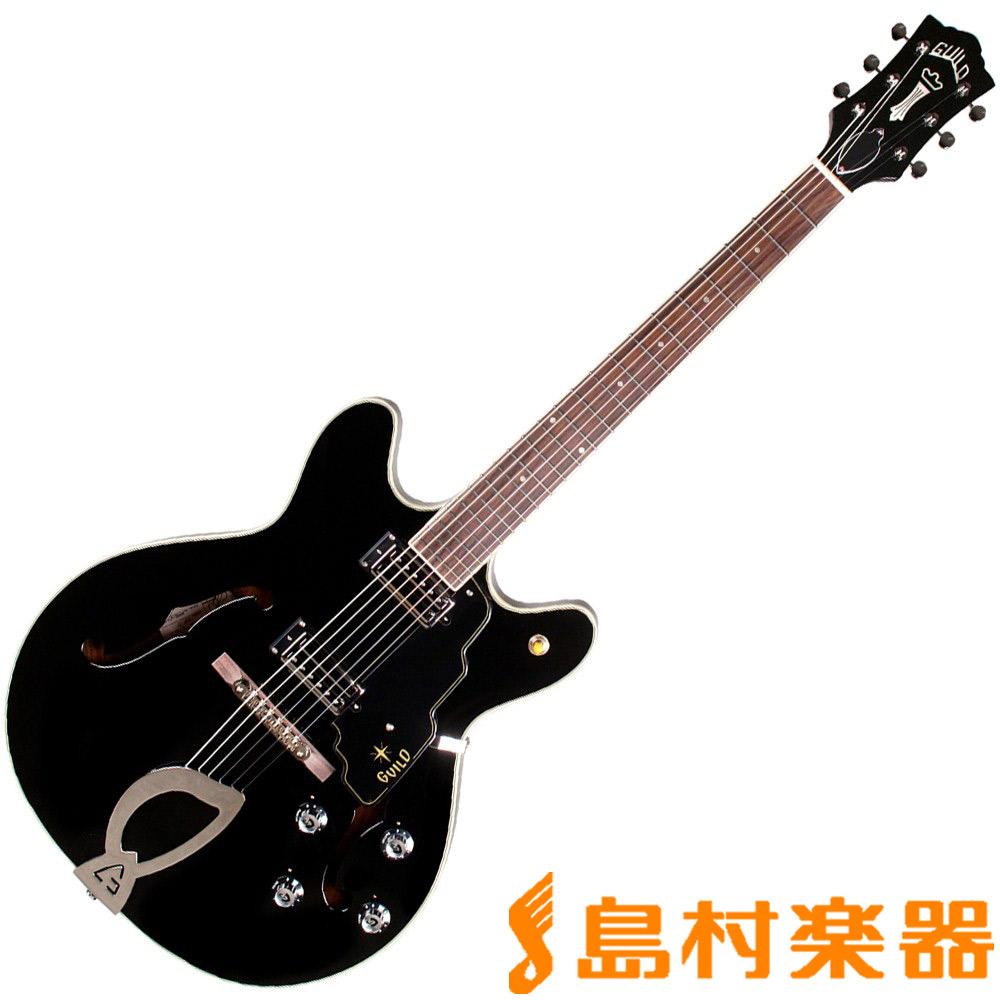 Guild STARFIRE IV BLK セミアコギター 【ギルド】