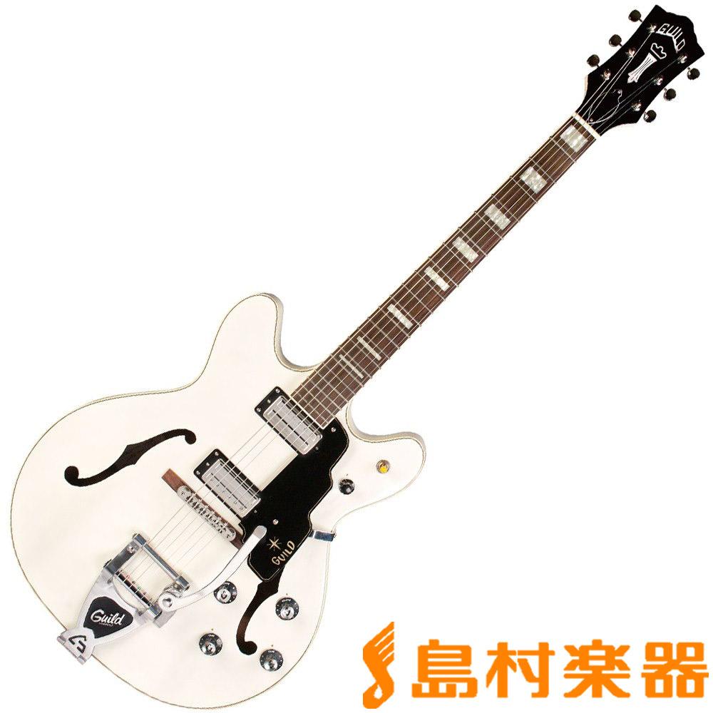 Guild STARFIRE V WHT セミアコギター 【ギルド】