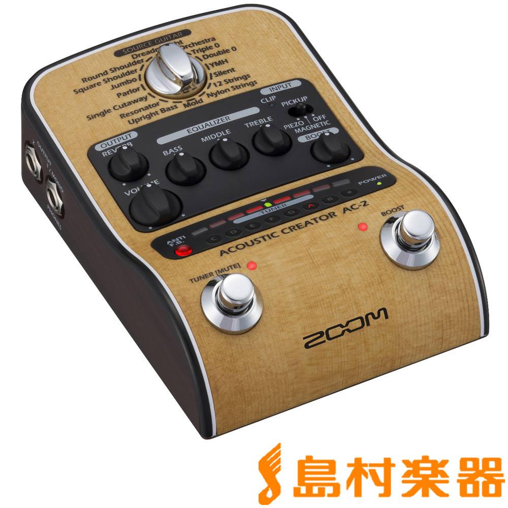 【正規取扱店】 ZOOM Creator AC-2 AC-2 Acoustic Creator Acoustic【ズーム】, 雑貨屋マスコット:24bba217 --- canoncity.azurewebsites.net
