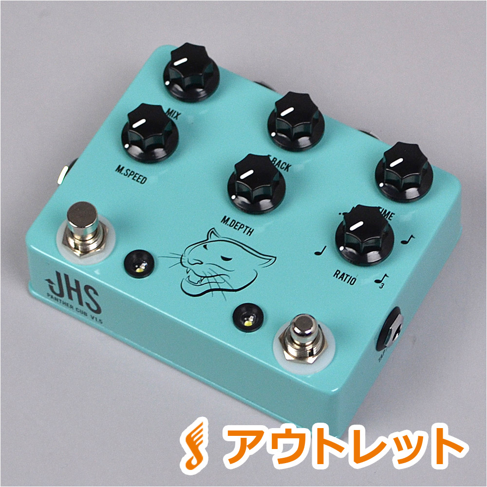JHS Pedals Panther cub V1.5 エフェクター 【JHS ペダルス analog delay w/Tap tempo】【りんくうプレミアムアウトレット店】【アウトレット】