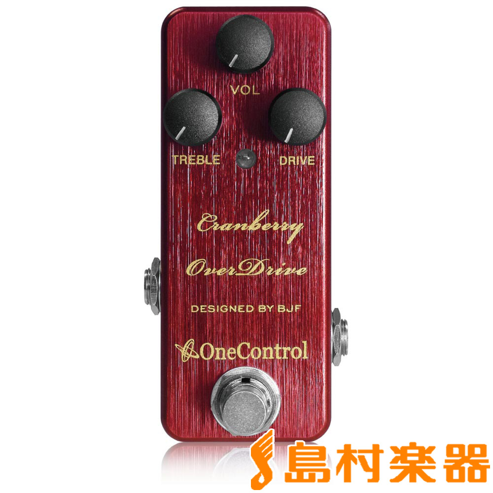 One Control Cranberry OverDrive コンパクトエフェクター/オーバードライブ 【ワンコントロール OC-CBOD】