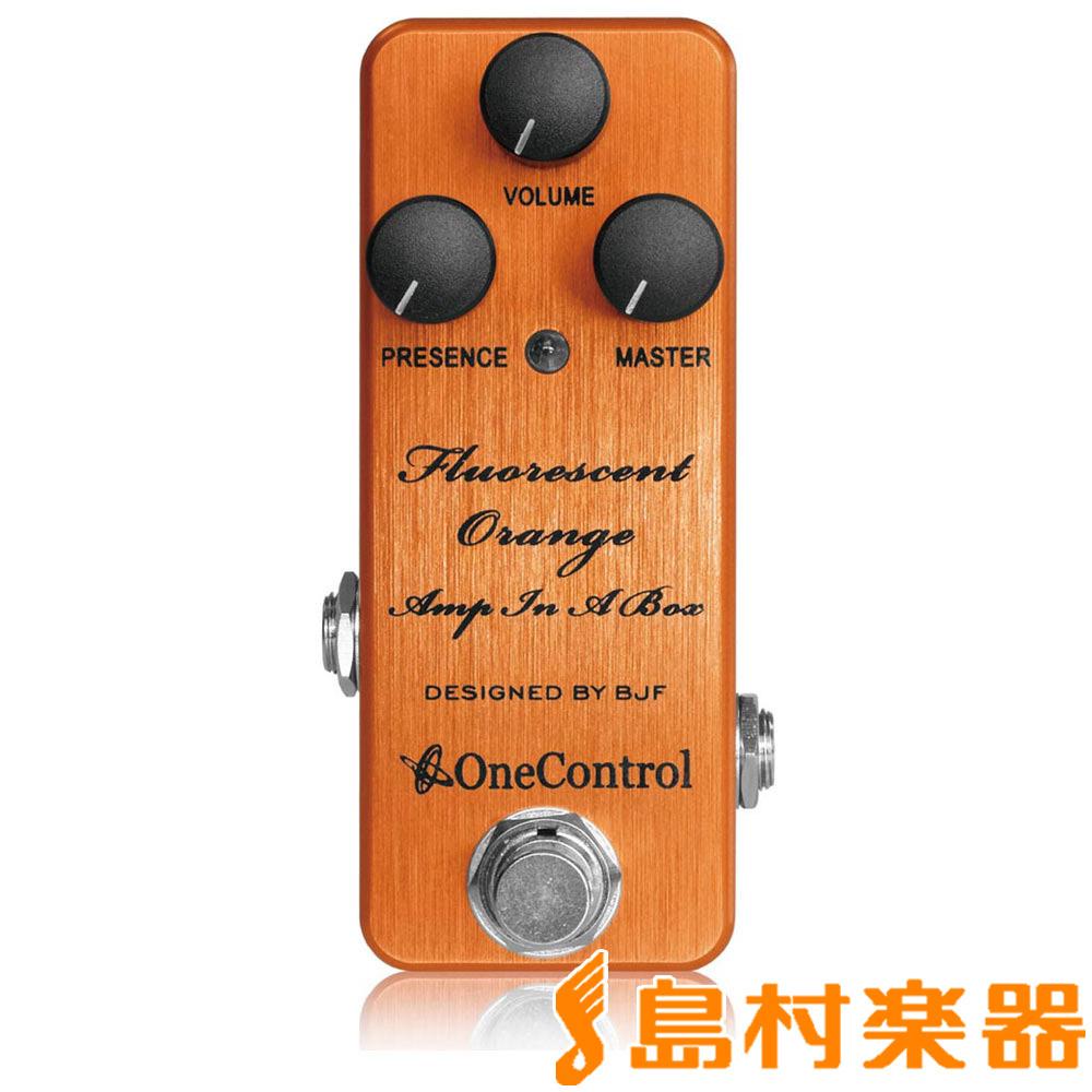 アンプインアボックス・オーバードライブ・ディストーション Fluorescent アダプタープレゼント!】 In Orange One A Box Amp Control OC-FOAIAB】 【12/31迄 【ワンコントロール