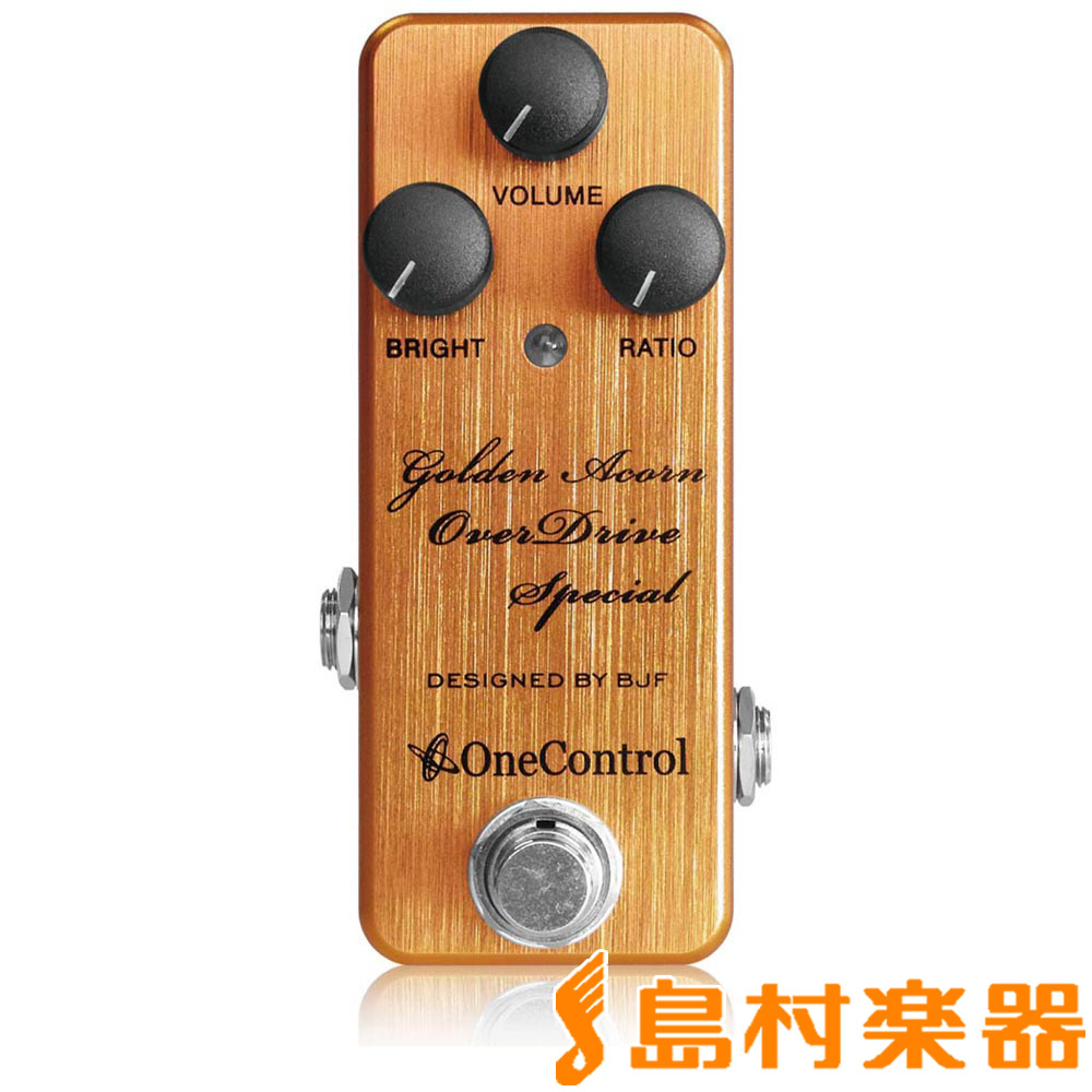 One Control Golden Acorn OverDrive Special アンプインアボックス・オーバードライブ 【ワンコントロール OC-GAODS】