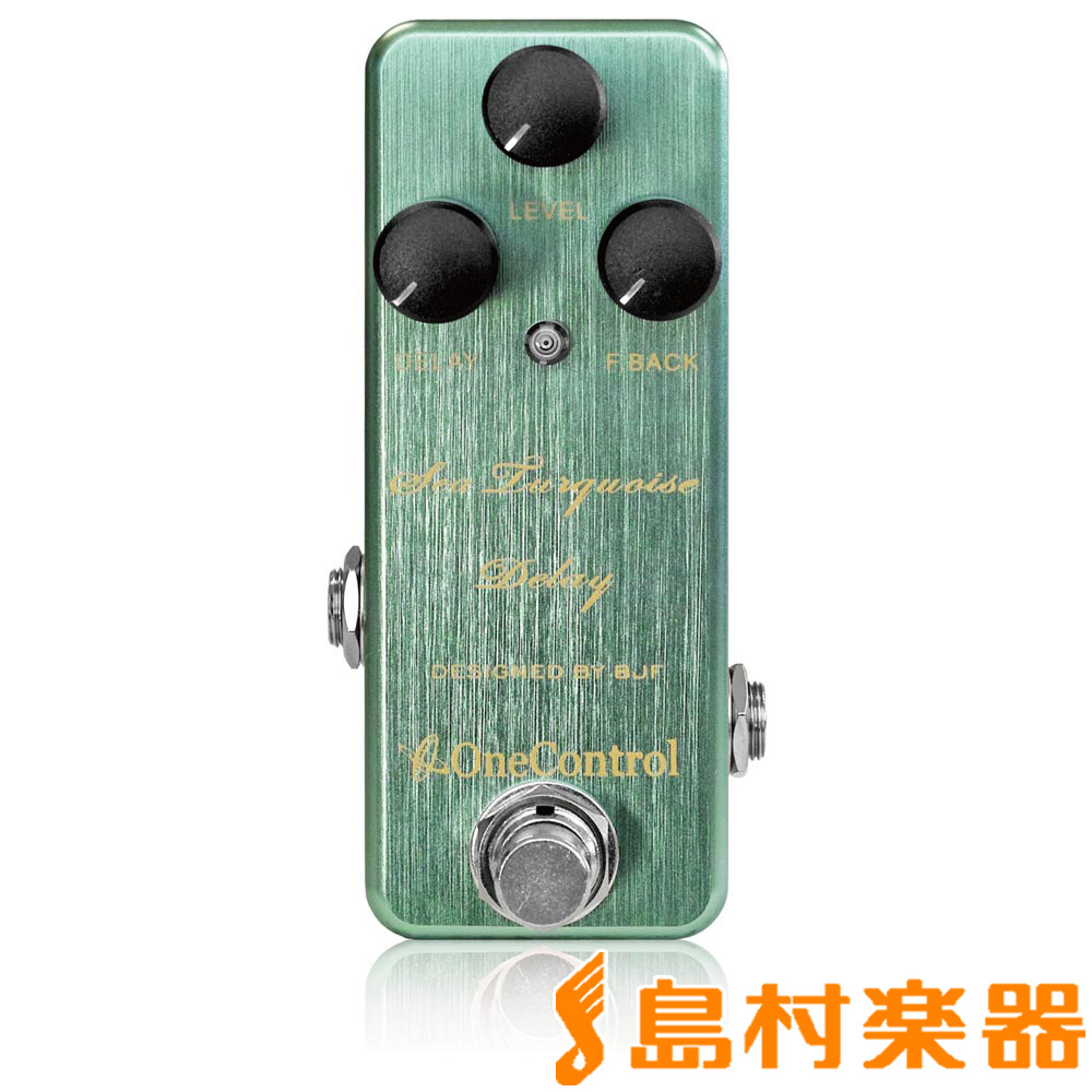 One Control Sea Turquoise Delay コンパクトエフェクター/ディレイ 【ワンコントロール OC-STD】