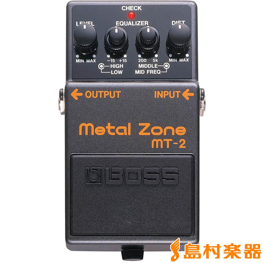 【8/31迄 アダプタープレゼント】 BOSS MT-2 ディストーション MetalZone メタルゾーン エフェクター 【ボス MT2】