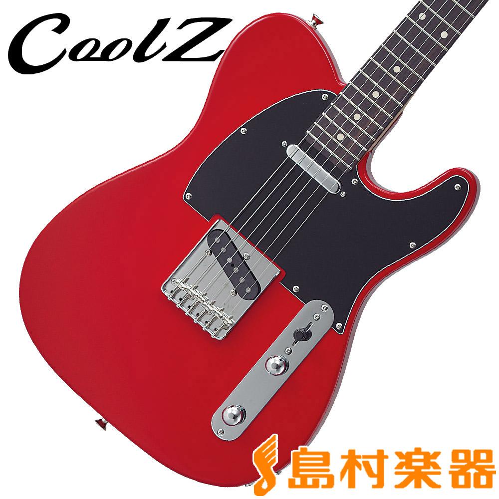CoolZ ZTL-V/R TRD トリノレッド エレキギター 【クールZ ZTLVR】【Vシリーズ】