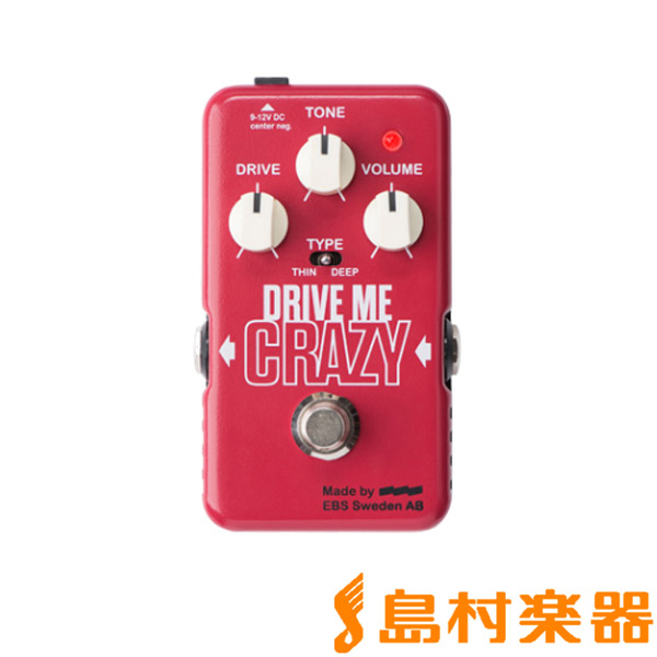 EBS DMC/DRIVE ME CRAZY コンパクトエフェクター/ディストーション