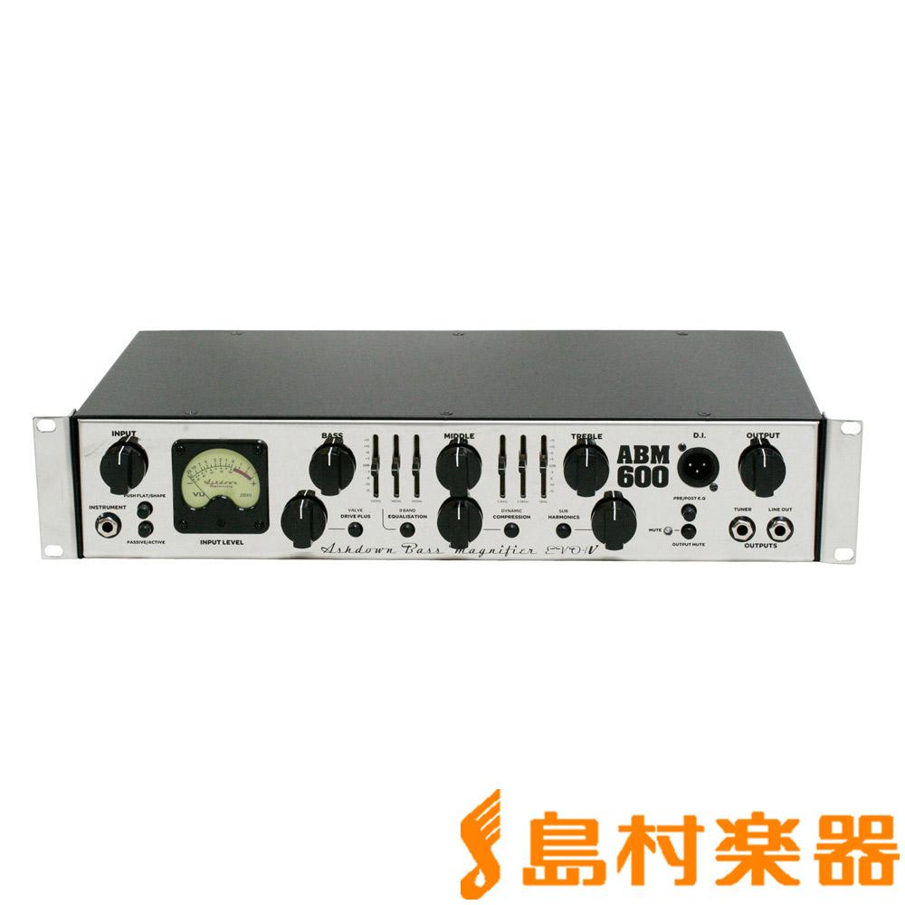 Ashdown ABM-600RC-EVO IV ベースアンプヘッド 【アッシュダウン】