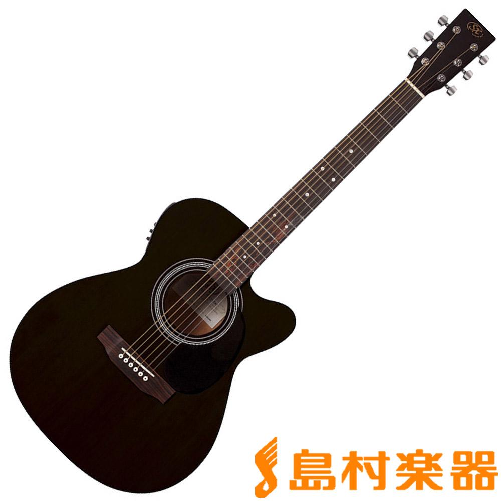 SX SD2-CE-BK アコースティックギター