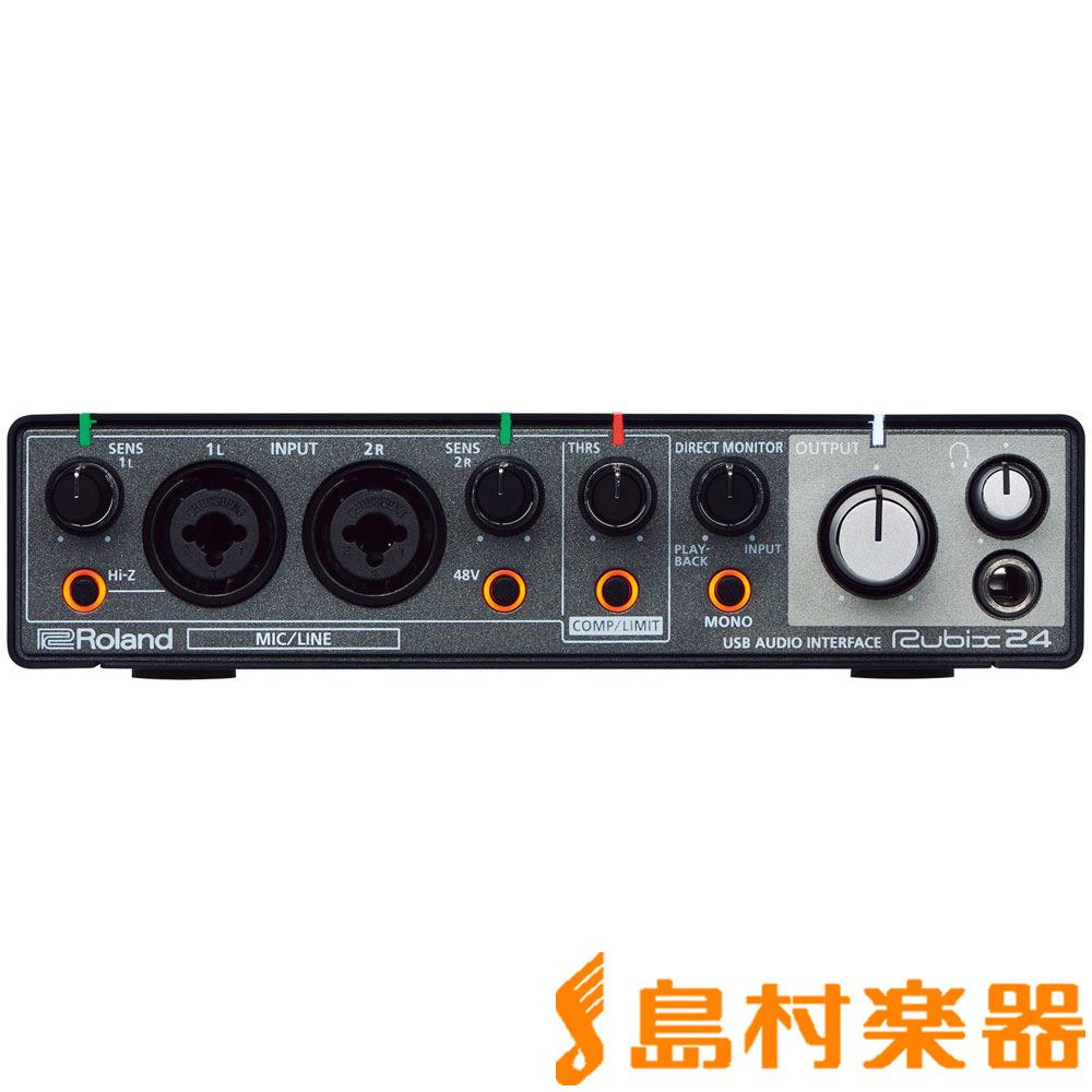 Roland RUBIX24 USB オーディオインターフェイス 【ローランド】