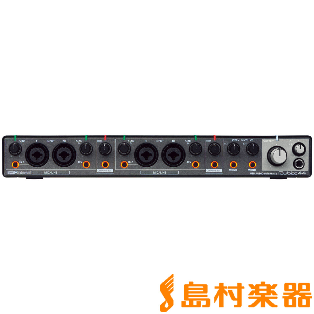 Roland RUBIX44 USB オーディオインターフェイス 【ローランド】