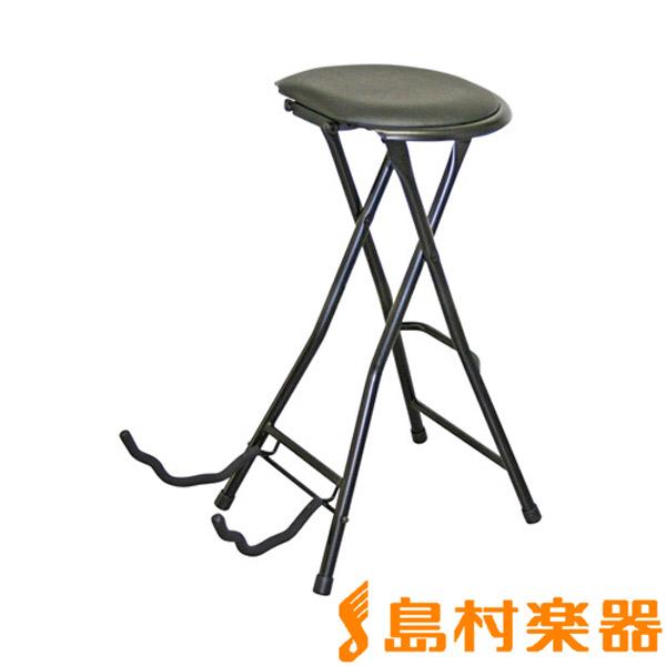KIKUTANI TFLC-006 弾き語り用椅子/折りたたみ式ギタースタンド付 【キクタニ】