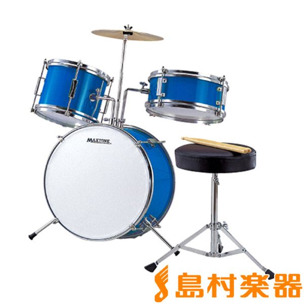 MAXTONE MX-50 MX-50 BLU BLU MAXTONE ジュニアドラムセット【マックストーン】, ミナミコマグン:cd8bcd18 --- officewill.xsrv.jp