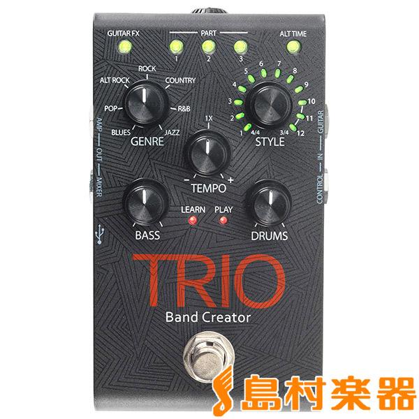 DigiTech TRIO ギターペダル型ベース/ドラムマシン 【デジテック】
