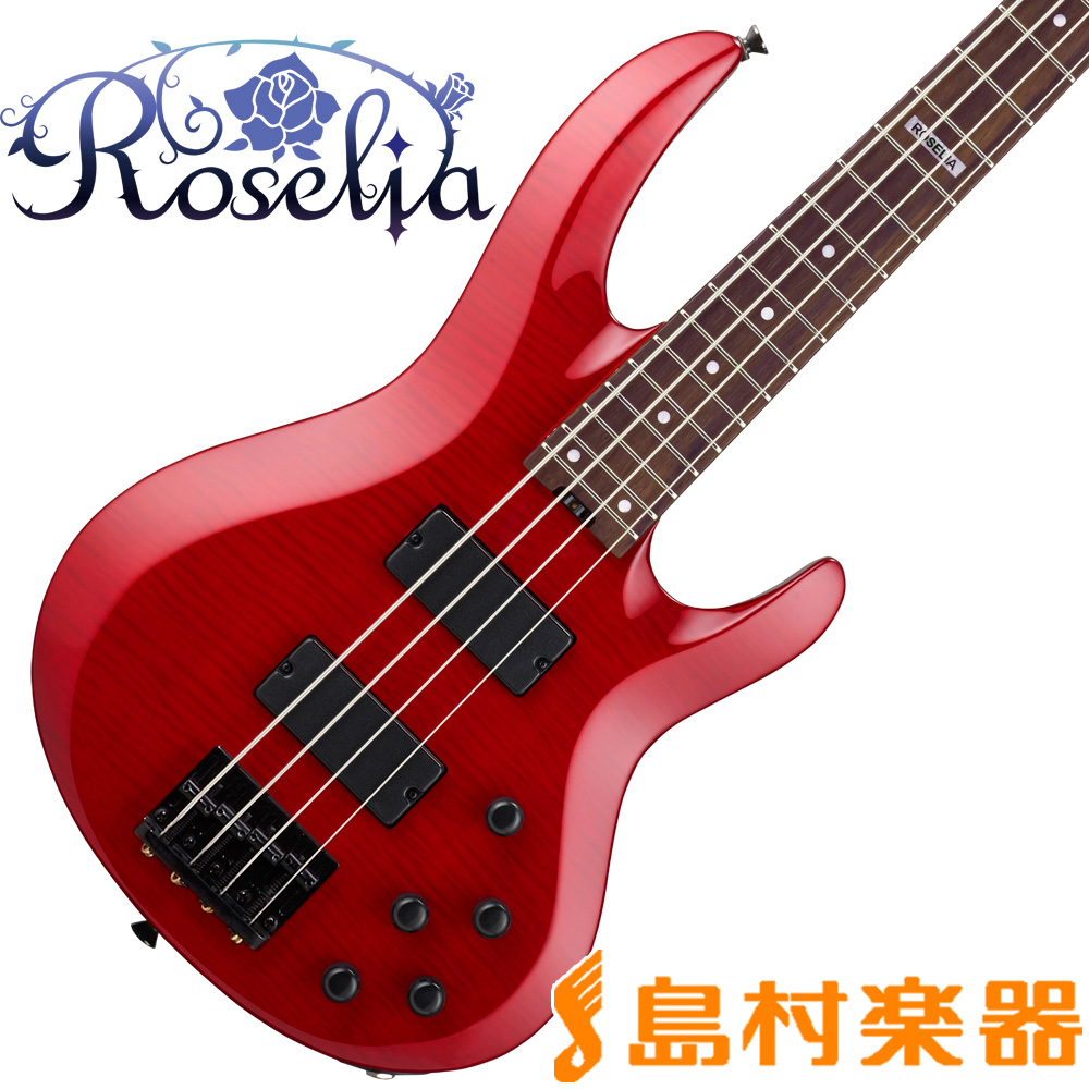BanG Dream! BTL LISA ESP×バンドリ! ロゼリア 今井リサモデル ベース 【バンドリ】