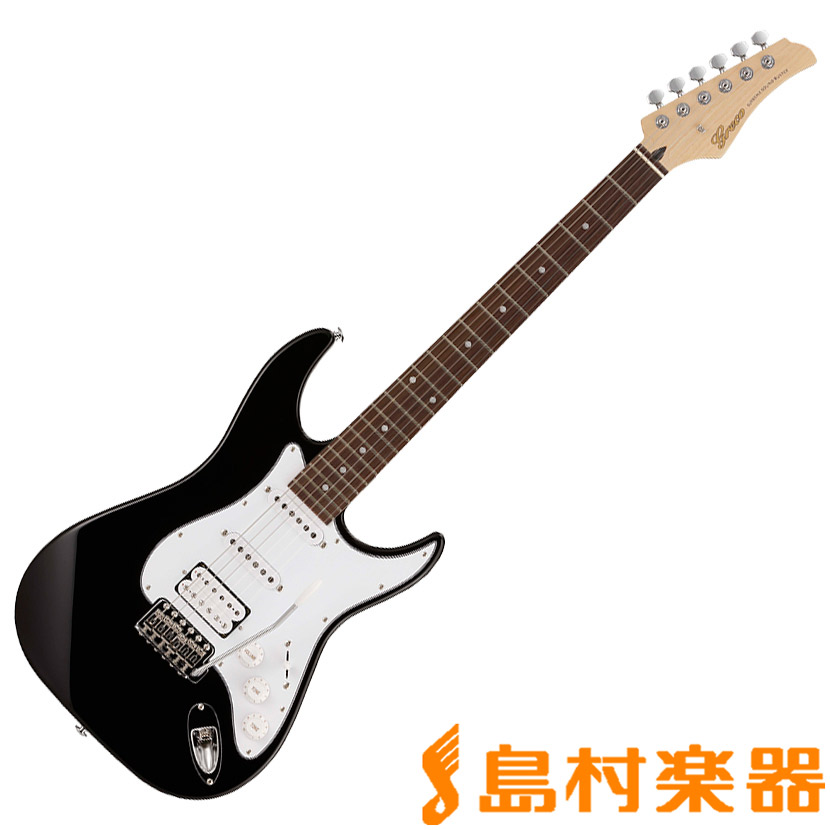 Greco WS-STD SSH /R BLK エレキギター 【グレコ】
