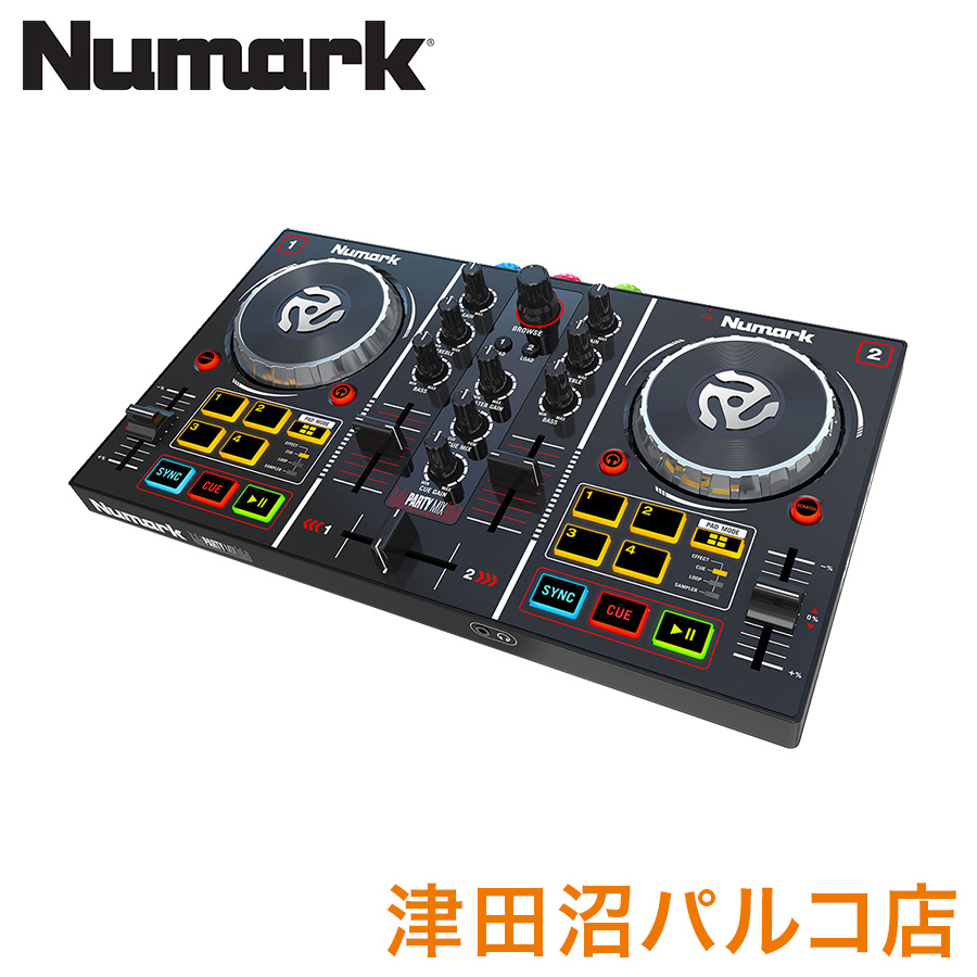 Numark Party Mix DJコントローラー 【ヌマーク】【津田沼パルコ店】