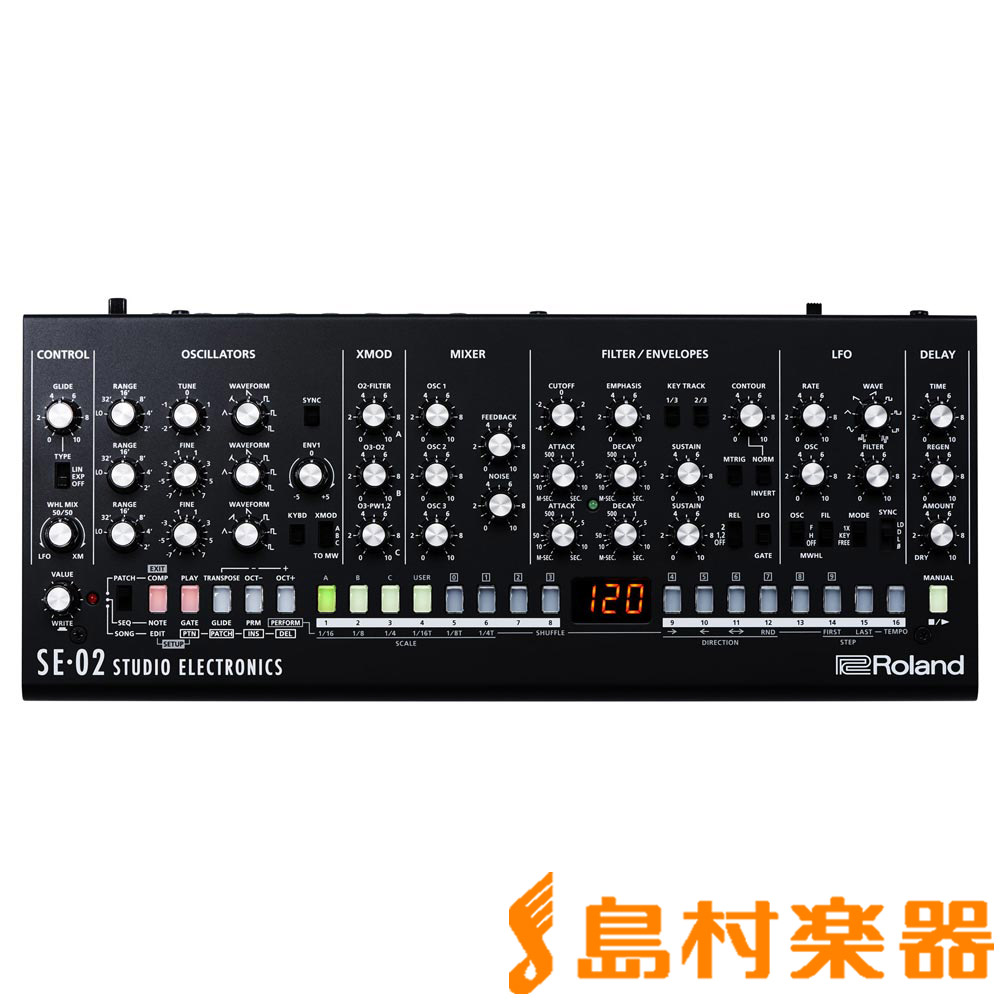 Roland Boutique SE-02 Analog Synthesizer アナログシンセサイザー 【ローランド SE02】