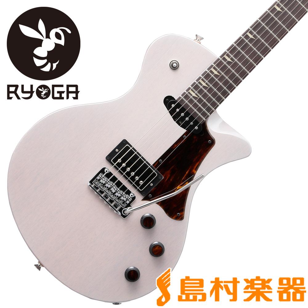 RYOGA HORNET-T3V Translucent Pearl White エレキギター 【リョウガ】