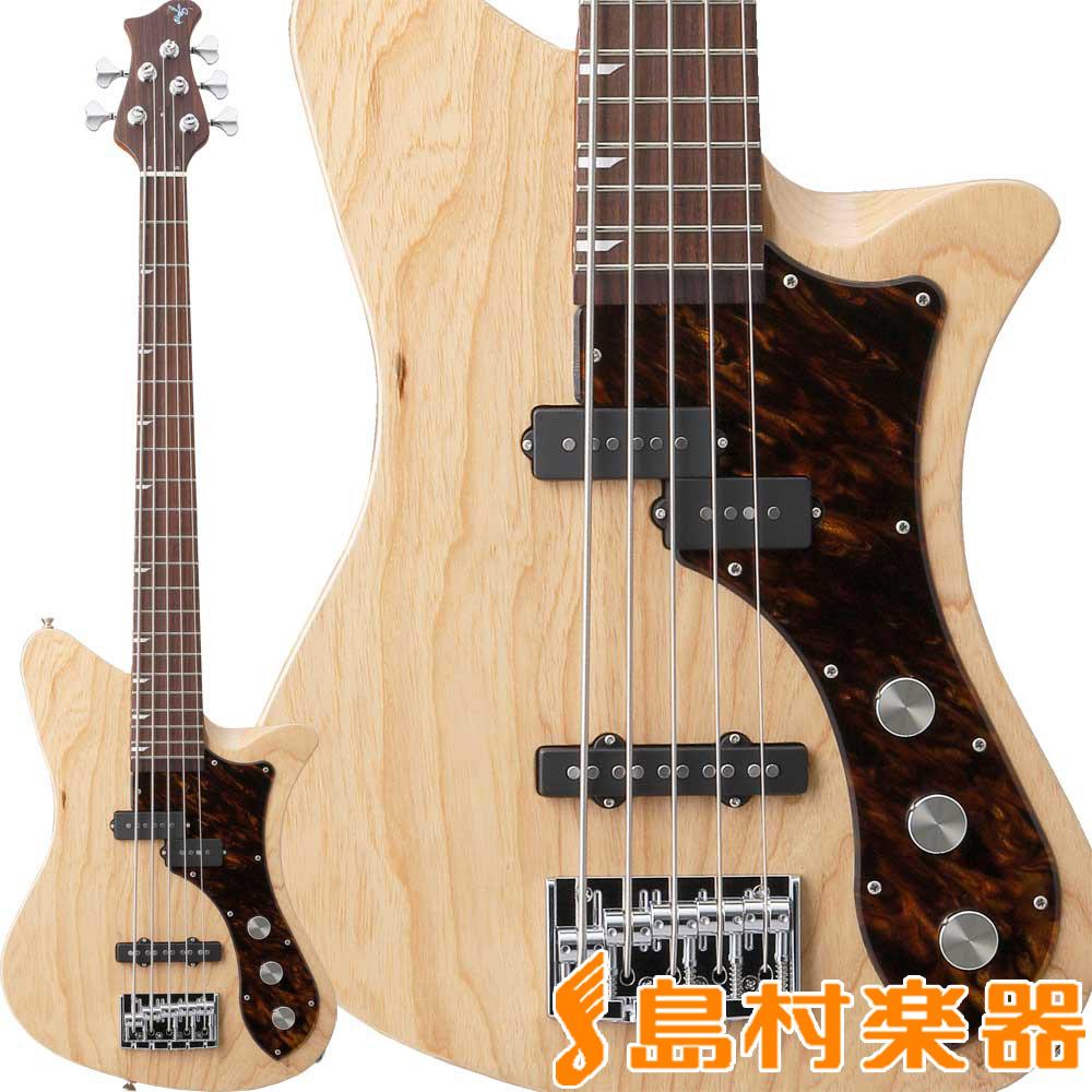 RYOGA SKATER-B532 Pearl Natural ベース 5弦 【リョウガ】