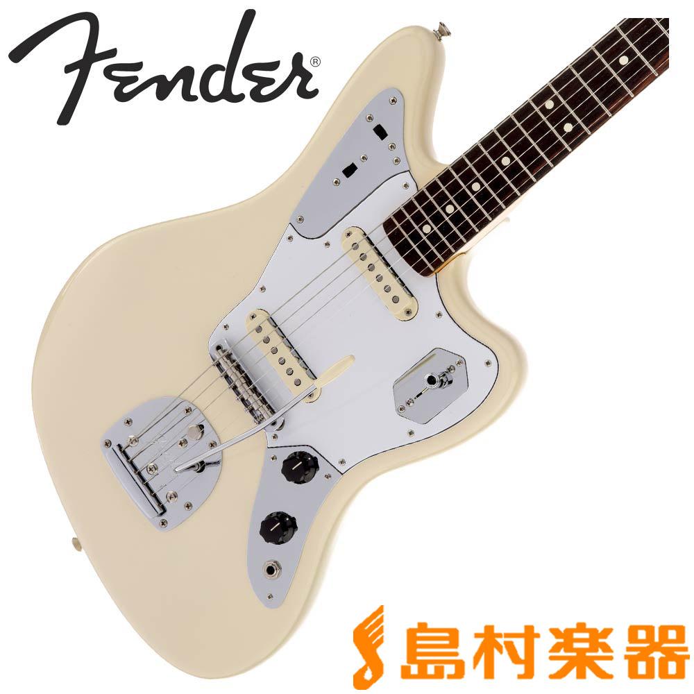 Fender Johnny Marr Jaguar Olympic White ジャガー エレキギター 【フェンダー】