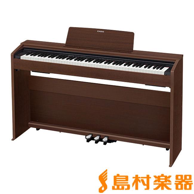CASIO PX-870BN 電子ピアノ 88鍵盤 【カシオ PX870 Privia プリヴィア】【配送設置無料・代引き払い不可】【別売り延長保証対応プラン:D】