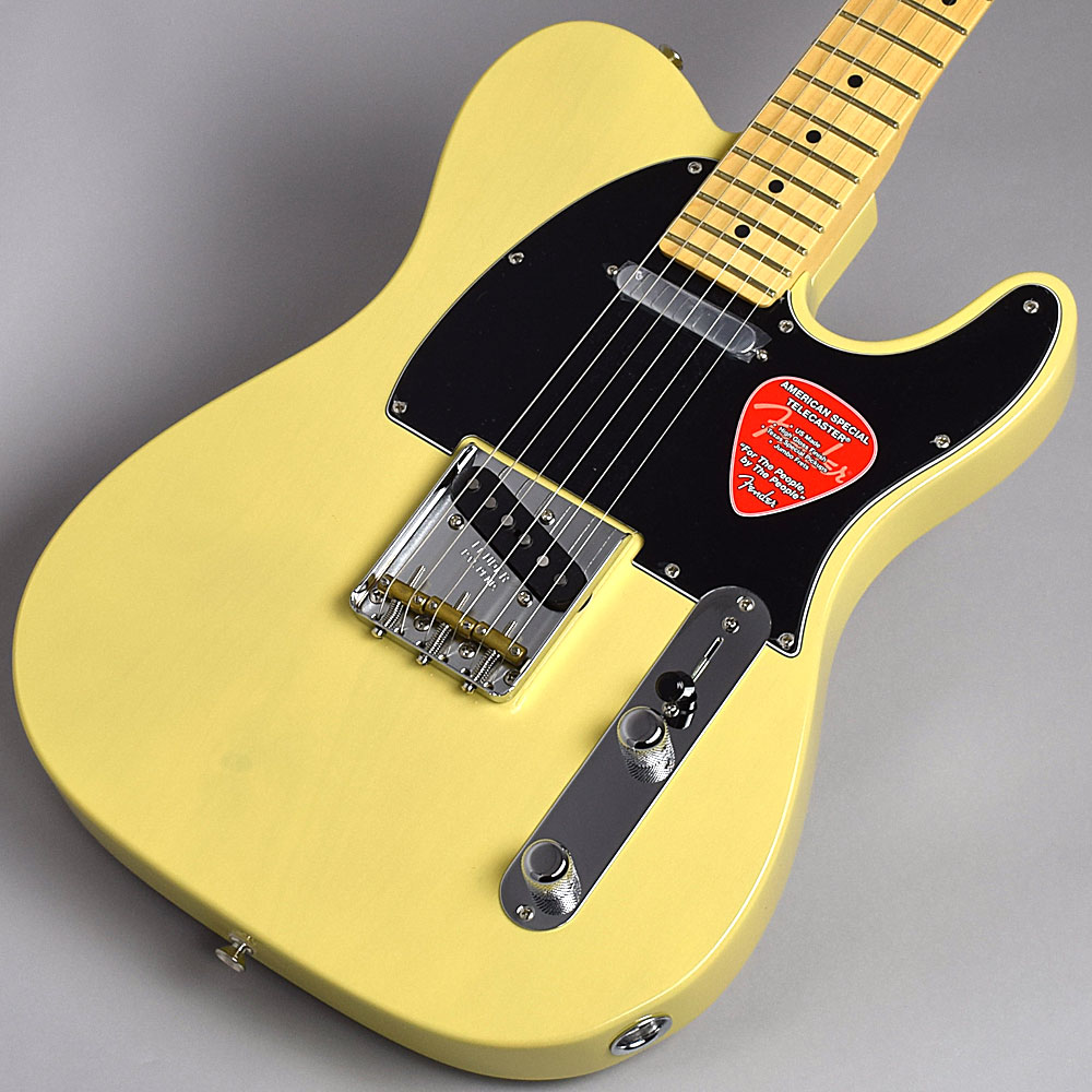 Fender American Special Telecaster(Vintage Blonde/Maple) テレキャスター 【フェンダー アメリカン・スペシャル】【福岡イムズ店】