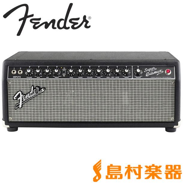 【特別訳あり特価】 Fender SUPER SUPER BASSMAN ベースアンプヘッド【フェンダー BASSMAN】, 【未使用品】:bb92907c --- totem-info.com
