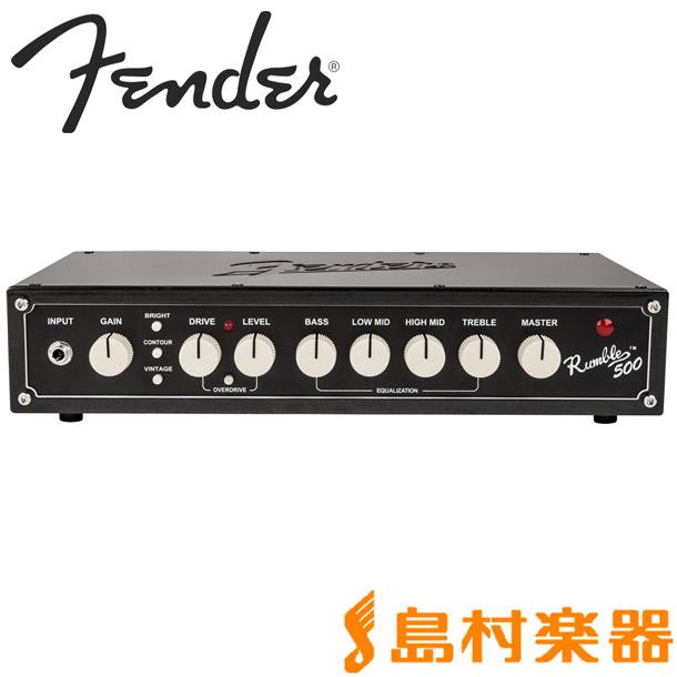 Fender RUMBLE 500 HEAD ベースアンプヘッド 【フェンダー】