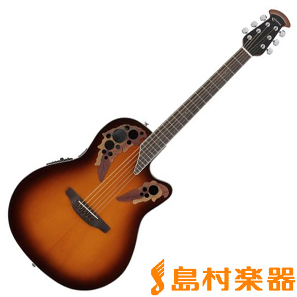 Ovation Celebrity Celebrity Elite Super Shallow Body CE48 SB エレアコギター/ELITE 【オベーション セレブリティ】