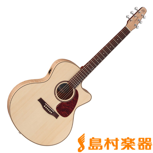 Seagull Performer Cutaway Mini Jumbo Flame Maple High-Gloss Quantum アコースティックギター 【シーガル】