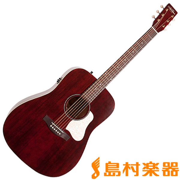 Art & Lutherie Americana Tennessee Red Q1T TRD エレアコギター 【アート&ルシアー】