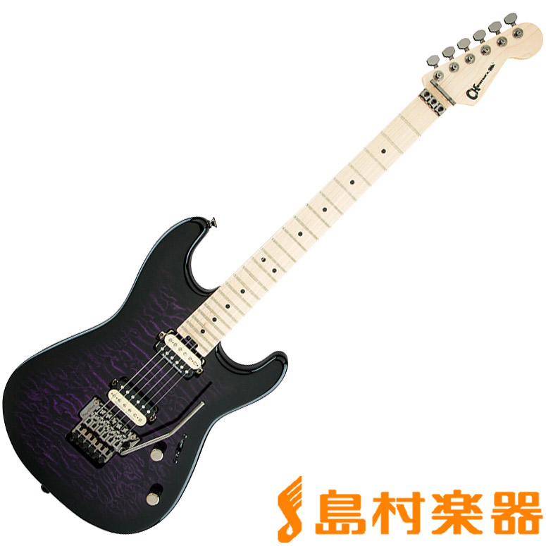 Charvel SAN DIMAS(R) STYLE 1 HH FR TRANSPARENT PURPLE BURST BPUBT エレキギター/Pro‐Mod シリーズ 【シャーベル】