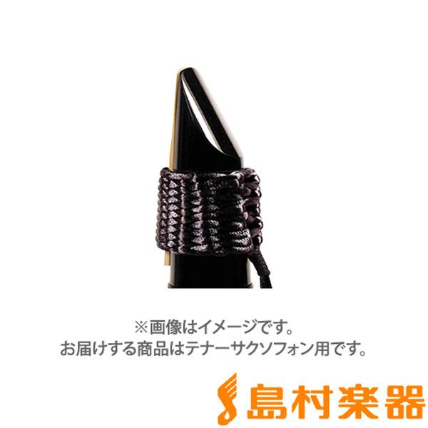 新色追加して再販 Bambu 日本産 リガチャー ブラック テナーサックス バンブー