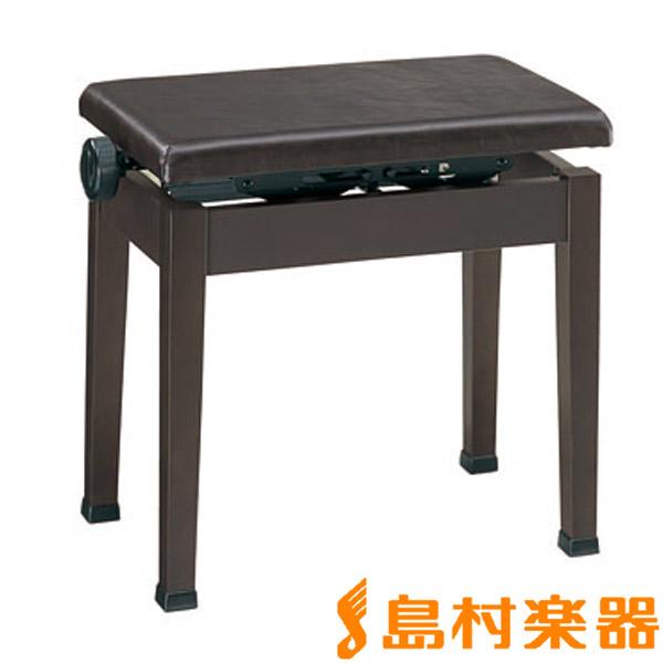 甲南 ピアノ用 高低自在椅子 K48 艶消しダークローズ 【コウナン ピアノイス ブラウン】