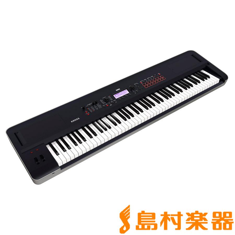 KORG KROSS2-88 (Dark Blue) 88鍵盤 シンセサイザー 【コルグ KROSS288】