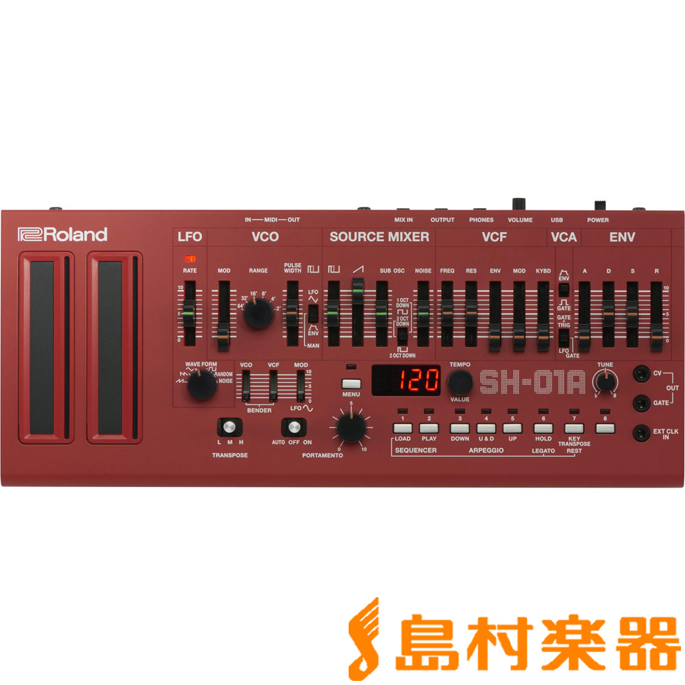Roland Boutique SH-01A (レッド) Synthesizer シンセサイザー 【ローランド】【数量限定品】