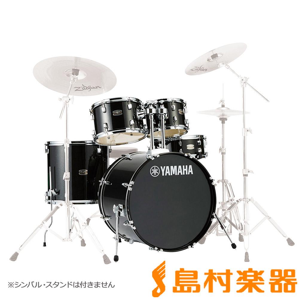 YAMAHA RYDEEN RDP2F5BLG ドラム シェルセット ブラックグリッター 【バスドラム22インチ仕様】 【ヤマハ ライディーン】