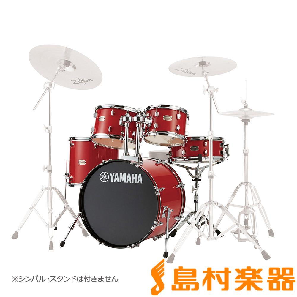 YAMAHA RYDEEN RDP0F5RD ドラム シェルセット ホットレッド 【バスドラム20インチ仕様】 【ヤマハ ライディーン】
