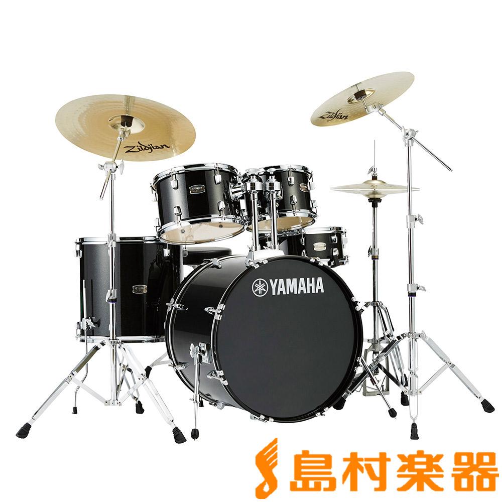 YAMAHA RYDEEN RDP0F5BLG ドラムセット ブラックグリッター 【バスドラム20インチ仕様】 【ヤマハ ライディーン】