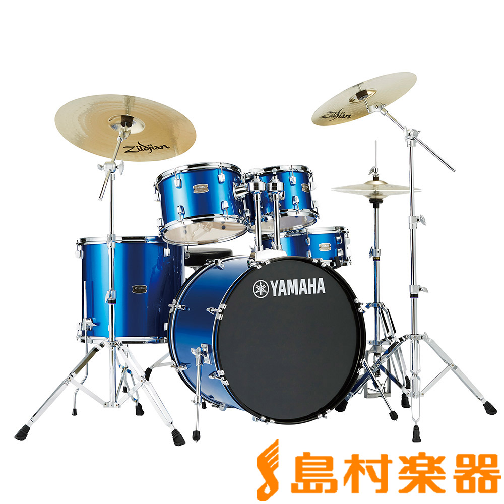 YAMAHA RYDEEN RDP0F5FB ドラムセット ファインブルー 【バスドラム20インチ仕様】 【ヤマハ ライディーン】