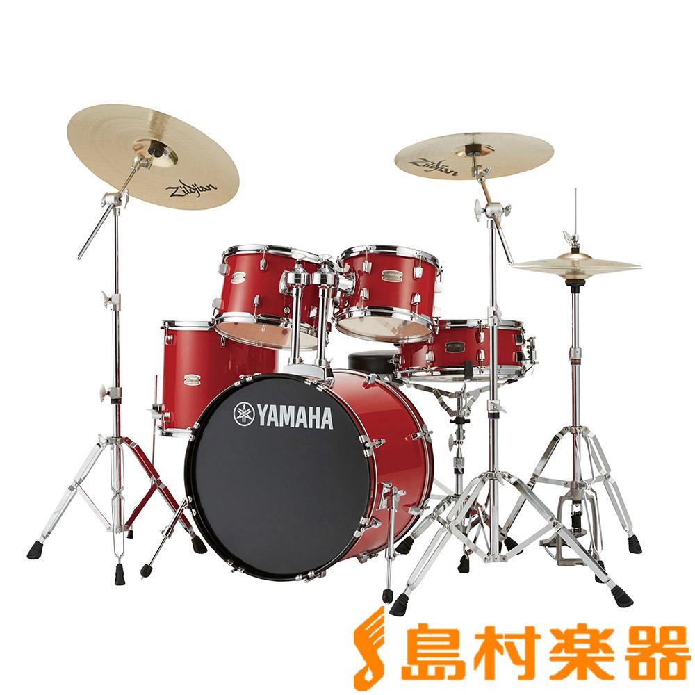 YAMAHA RYDEEN RDP0F5RD ドラムセット ホットレッド 【バスドラム20インチ仕様】 【ヤマハ ライディーン】