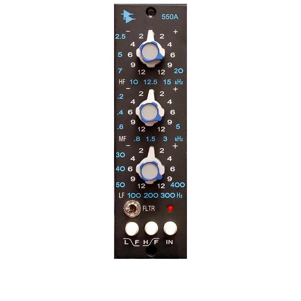 API 550A ディスクリート 3バンド EQ(500シリーズ 【エーピーアイ】