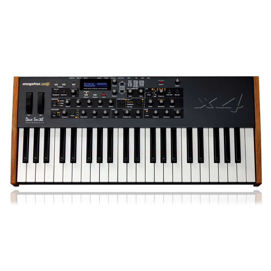 Dave Smith Instruments Mopho X4 セミウェイテッド・キーボードバージョン 【デイブスミス インストゥルメンツ 】