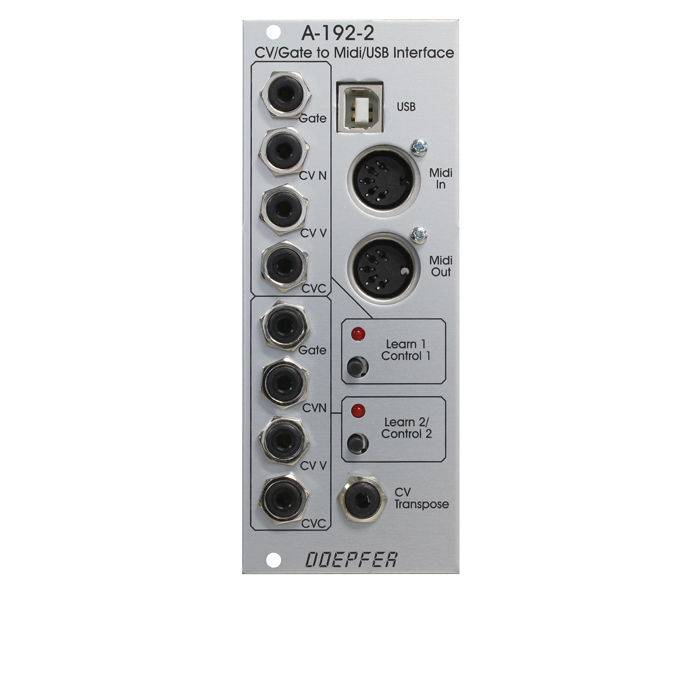 Doepfer A-192-2 Dual CV Interface/Gate to A-192-2 Midi/USB Interface Dual モジュール【ドイプファー】, VALUE BOOKS:263912a8 --- gamenavi.club